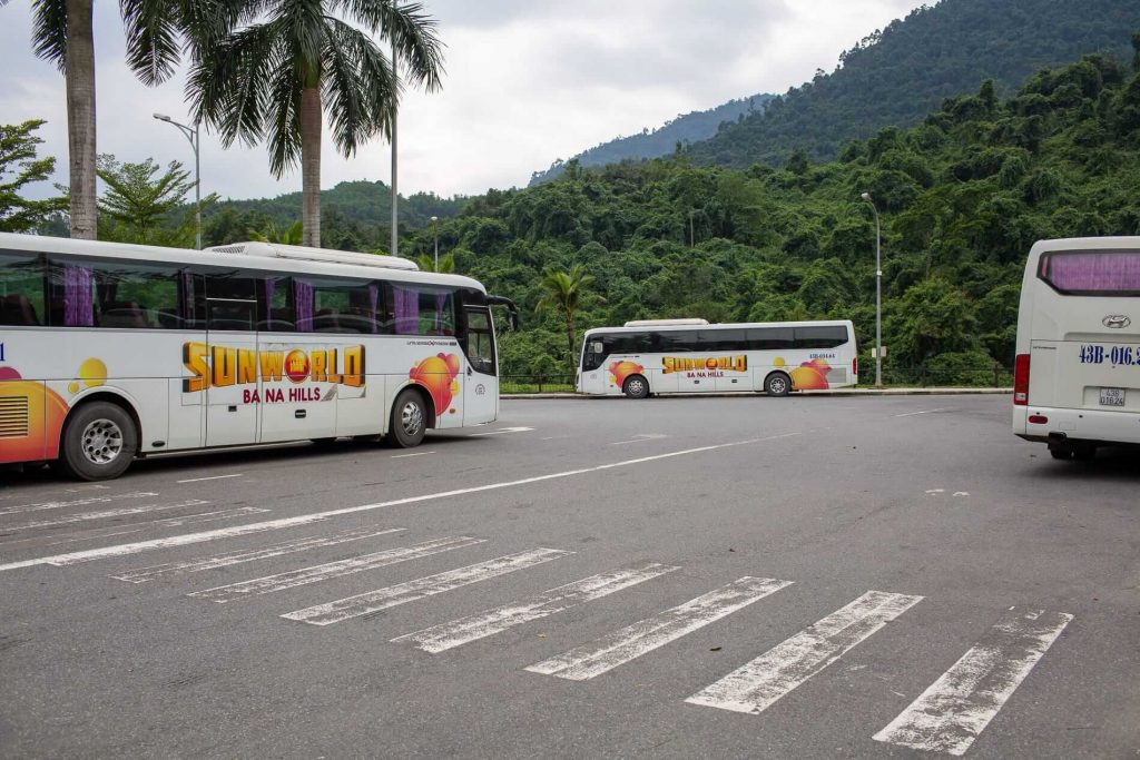 Travel From Hoi An to Bana Hills by bus