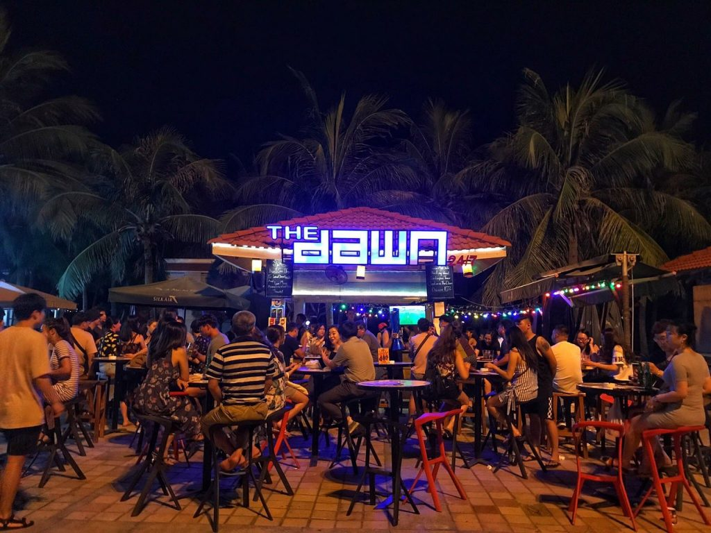 My Khe Beach in Da Nang vietnam