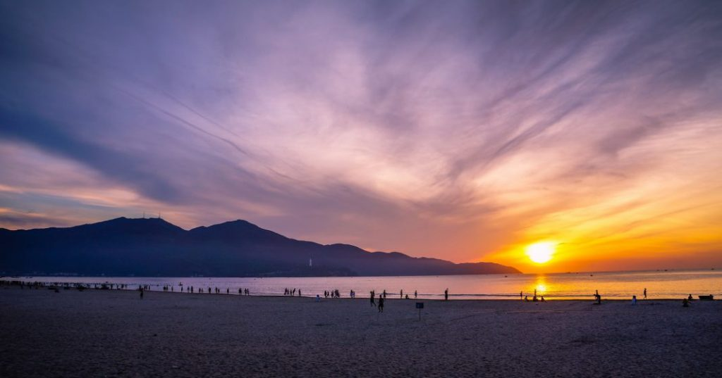 My Khe Beach in Da Nang City