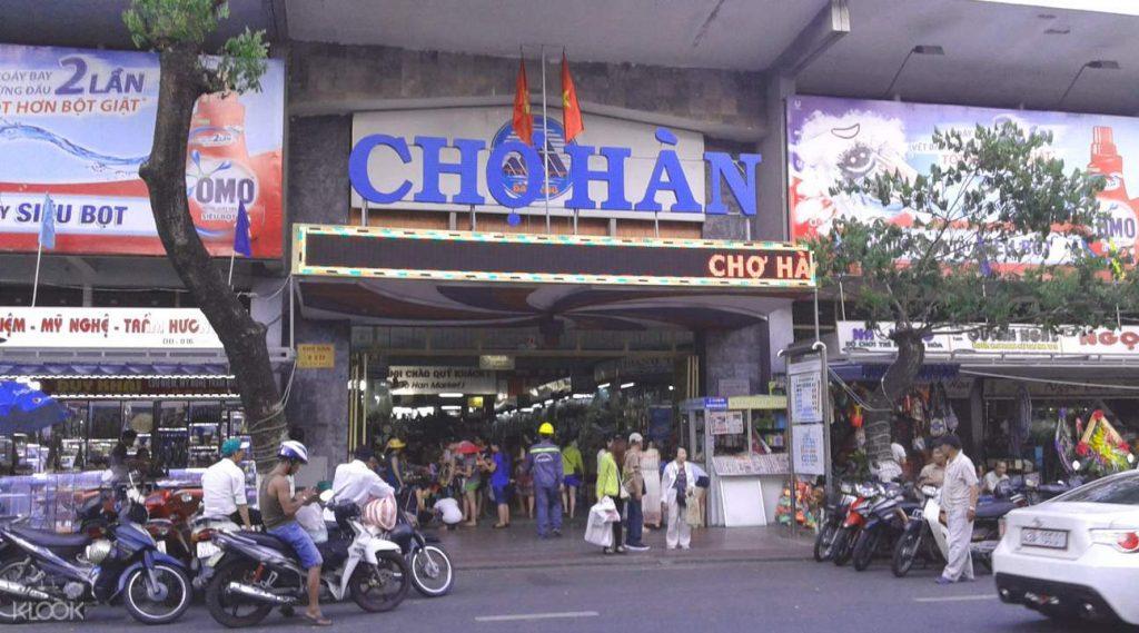 Han Market in Da Nang City