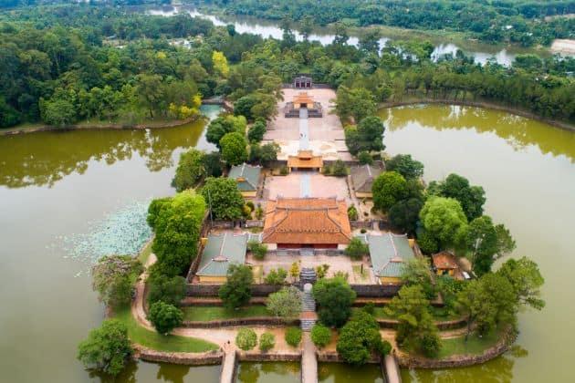 Minh Mang Tomb in Hue City