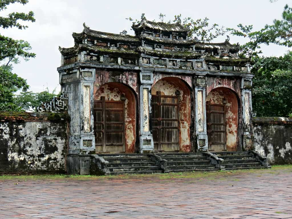 Minh Mang Tomb in Hue vietnam