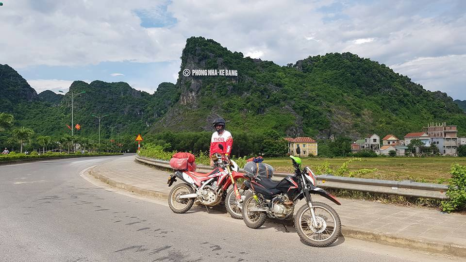 Travel From Hue To Phong Nha by motorbike