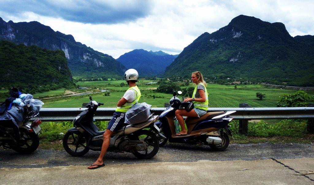 from Phong Nha to Da Nang by motorbike