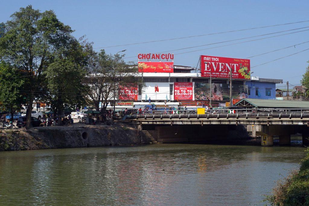 Local Market in Hue Vietnam