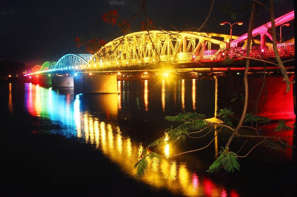 Truong tien bridge - One Day in Hue Vietnam