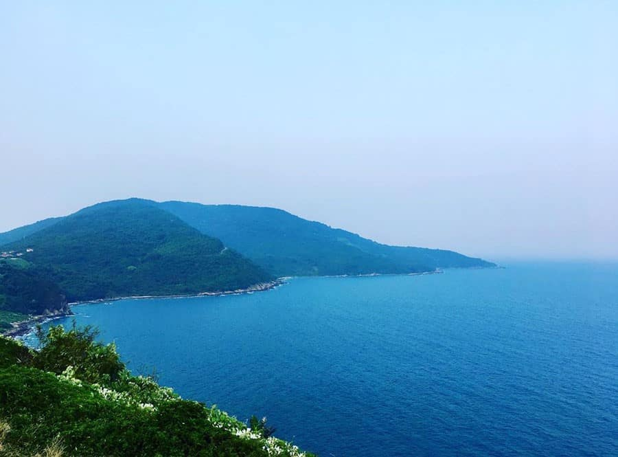 Son Tra Peninsula in Danang
