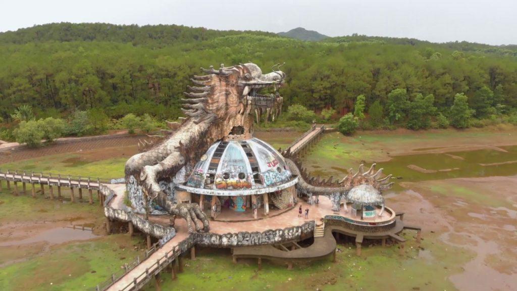 Abandoned Water Park in Hue Vietnam